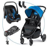 Recaro Citylife TravelSystem mit Babyschale Privia und Recaro Fix Basis Saphir