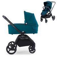 Recaro Kombikinderwagen Celona Rahmen Black Design Select Teal Green