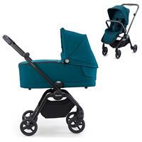 Recaro Kombikinderwagen Sadena Rahmen Black Design Select Teal Green