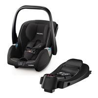 Recaro Starter-Set Babyschale Guardia inkl. SmartClick Isofix Basis Station Performance Black