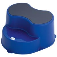 rotho TOP Fußbank Schemel Tritt Hocker Royal Blue Pearl