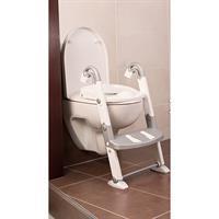 Kidskit Toilettentrainer 3-in-1 WC Sitz silber/weiß