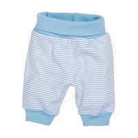 Schnizler Baby-Pumphose Interlock Ringel weiß/bleu Gr. 56