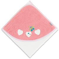 Sterntaler Bath-Towel 80x80 Peggy white