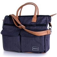 Teutonia Wickeltasche Care Melange Navy