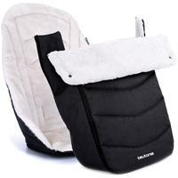 Teutonia Winter Kit Auflage und Fußsack Melange Black