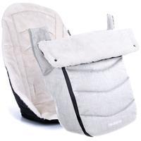 Teutonia Winter Kit Auflage und Fußsack Melange Light