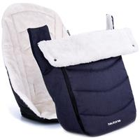 Teutonia Winter Kit Auflage und Fußsack Melange Navy