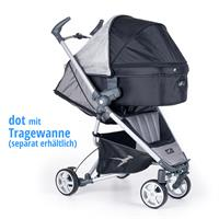 tfk dot buggy stroller 2016 grau with carrycot Ansichtsdetail 03