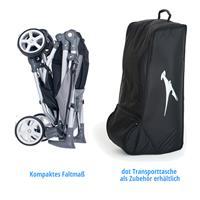 tfk dot buggy stroller 2016 kompaktes faltmaß transporttasche als zubehoer Detailansicht 01