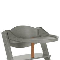 Treppy dinner board for high chair Woody Gray