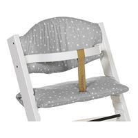 Treppy Sitzkissen Cushion für Hochstuhl Stars Gray