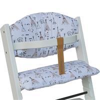 Treppy seat cushion Cushion für Hochstuhl White Tent