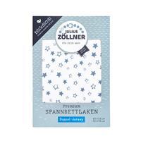 Zöllner Spannbetttuch Jersey 60x120 & 70x140 Stella Blue