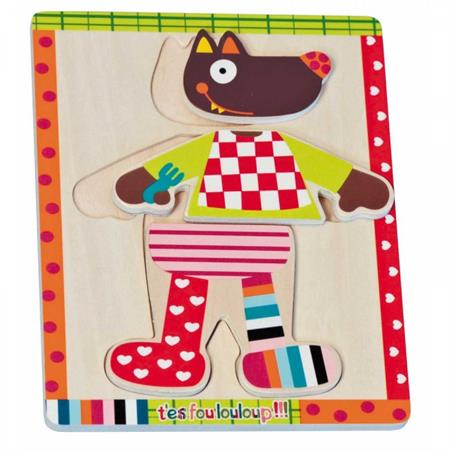 Ebulobo Ankleide Puzzle Louloup