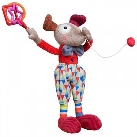 Ebulobo Plüschtier Alfred, der Activity Clown