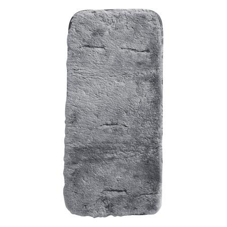 10200 120 Odenwaelder Lammfellauflage Fuer Kinderwagen Silber