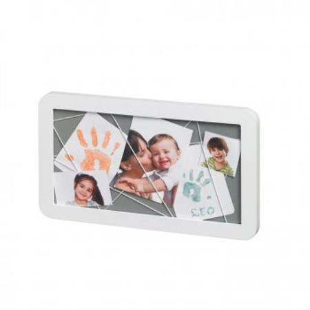 BabyArt Erinnerungstafel Memory Board Weiß & Grau