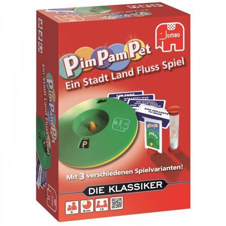 Jumbo Gesellschaftsspiel Pim Pam Pet - Stadt, Land