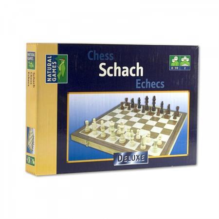 Natural Games Schachkassette Deluxe