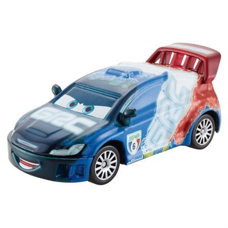 Disney Cars CBG10 Die-Cast Neon Racers Neon Racer Raoul Caroule