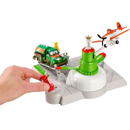 Disney Planes Action Shifters Spielset Chug's Tankstation