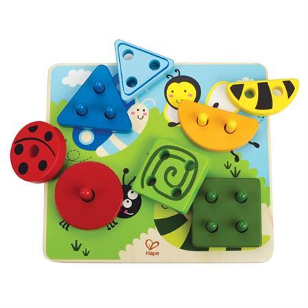 Hape Sortierspiel Kleine Tierwelt