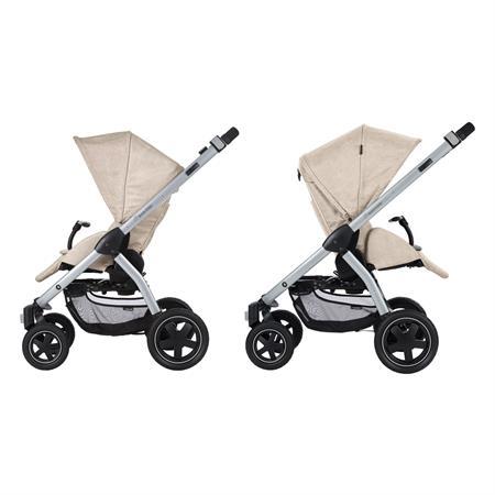 Maxi-Cosi Stella Kinderwagen Nomad Sand Sitzrichtungen