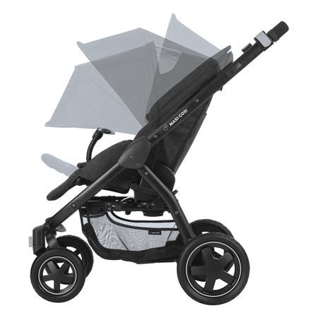 Maxi-Cosi Stella Kinderwagen Nomad Black Sonnenverdeck