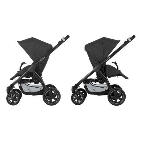 Maxi-Cosi Stella Kinderwagen Nomad Black Sitzrichtungen