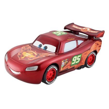 Disney Cars CBG11 Neon Racers Light-Up Lightning McQueen
