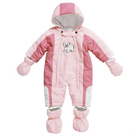 Playshoes Baby-Schneeanzug Eisbär Rosa 62