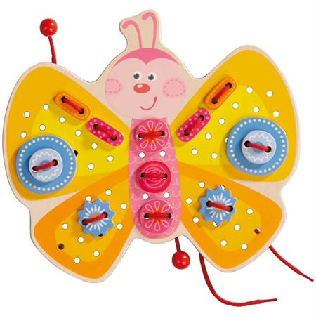 Haba Fädelspiel Schmetterling