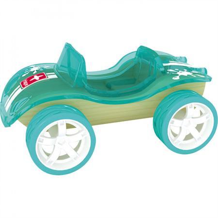 Hape Bambus Racer Buggy Grün