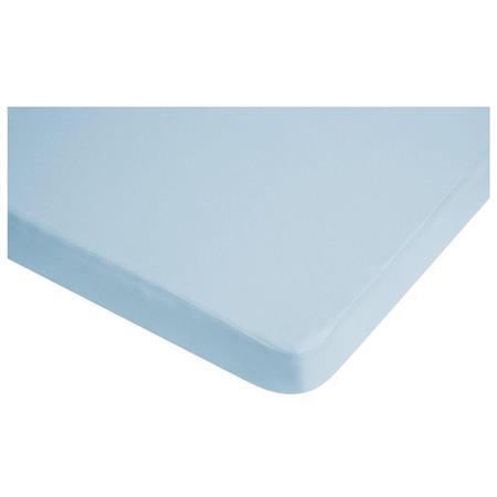 Playshoes Wasserdichtes Jersey-Spannbettlaken Blau 70x140 cm