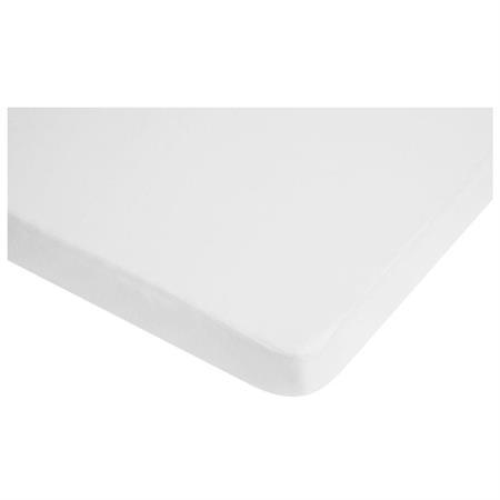 Playshoes Wasserdichtes Jersey-Spannbettlaken Weiß 70x140 cm