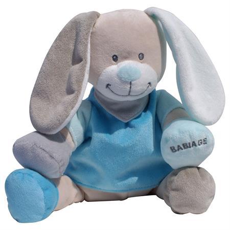 Babiage Doodoo Hase Plüschtier Einschlafhilfe für  Blau