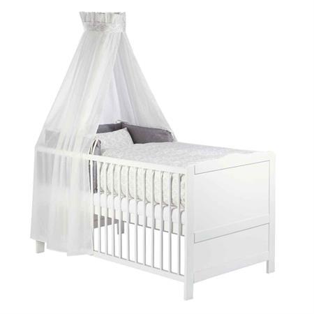 Zöllner Bett Set – Bettwäsche Nestchen Himmel Bärenromantik