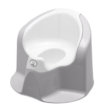 rotho TOP X-tra Komfort-Kindertopf Silber Weiß