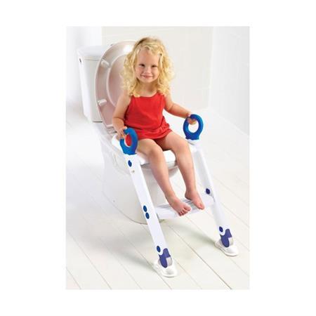 Keter Toiletten Trainer XL Weiß-Blau