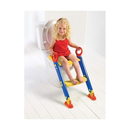 Keter Toiletten Trainer XL Blau-Rot-Gelb