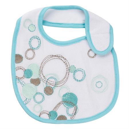 Badabulle Baby-Lätzchen für Neugeborene 2er Set bl