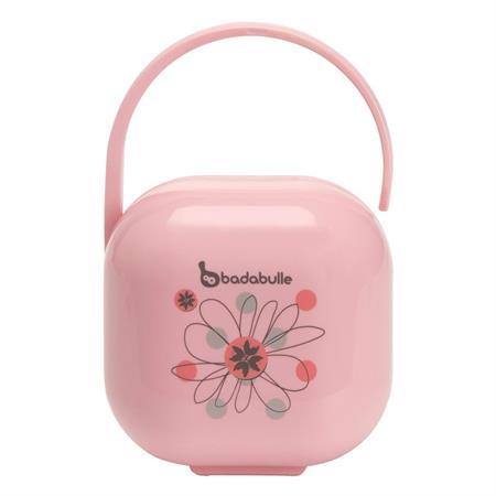 Badabulle Schnullerbox pink