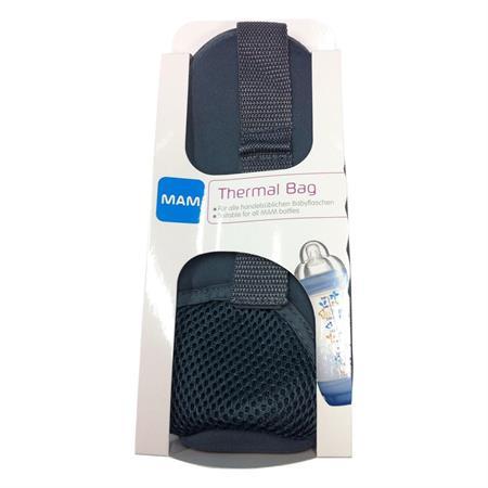 MAM Thermal Bag Thermo-Tasche für Babyflaschen Grau