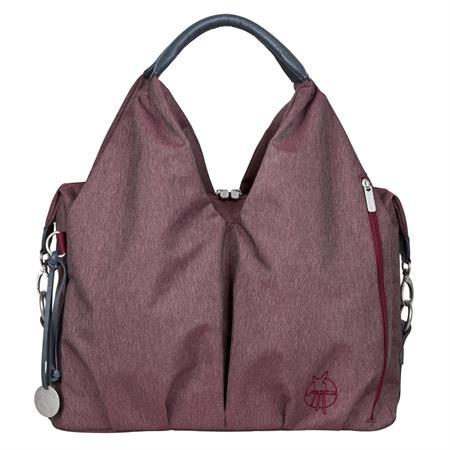 Lässig Green Label Neckline Bag Wickeltasche Ecoya Burgundy Red