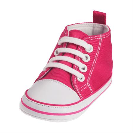 Playshoes Canvas Turnschuh Größe 17-20 Farbwahl Pink 17
