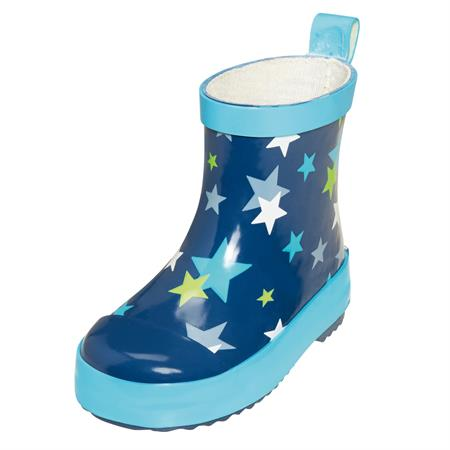 Playshoes Gummistiefel Sterne Blau 23