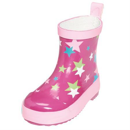 Playshoes Gummistiefel Sterne Pink 24