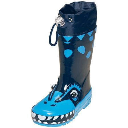 Playshoes Gummistiefel Dino blau 20/21