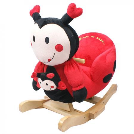 Knorrtoys Schaukeltier Ladybug Marie mit Sound ink